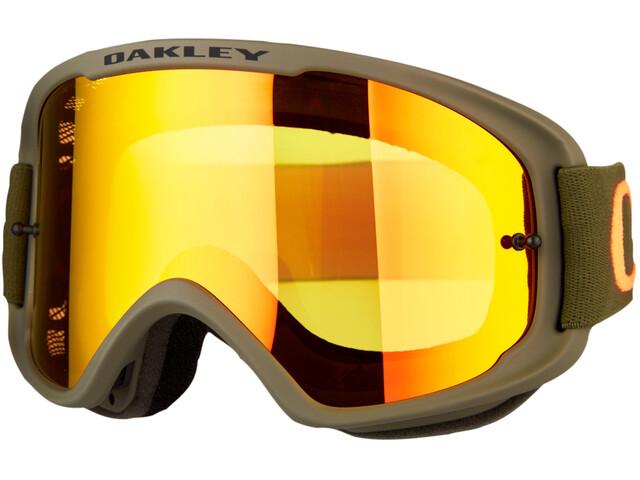 Oakley O-Frame 2.0 MTB Goggles dark brush orange/fire iridium